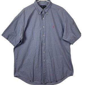 Ralph Lauren Men XL Classic Fit Short Sleeve Shirt